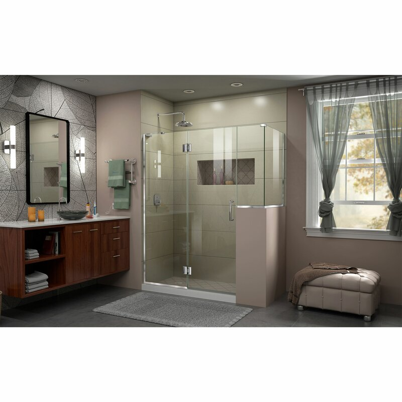 Unidoor-X 60\  x 36.38\  x 72\  Rectangle Hinged Shower Enclosure  sc 1 st  Wayfair & DreamLine Unidoor-X 60\