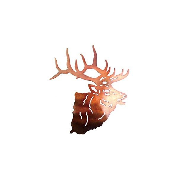 Metal Deer Head Wall Art | Wayfair