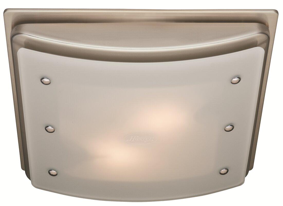 Ellipse 100 CFM Bathroom Fan with Light - Bathroom Fans - Fans Wayfair