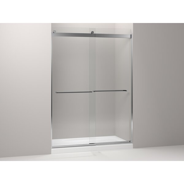 kohler levity x double sliding shower door u0026 reviews wayfair
