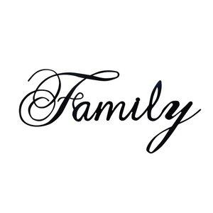 Laser Engraved Family Wall Du00e9cor