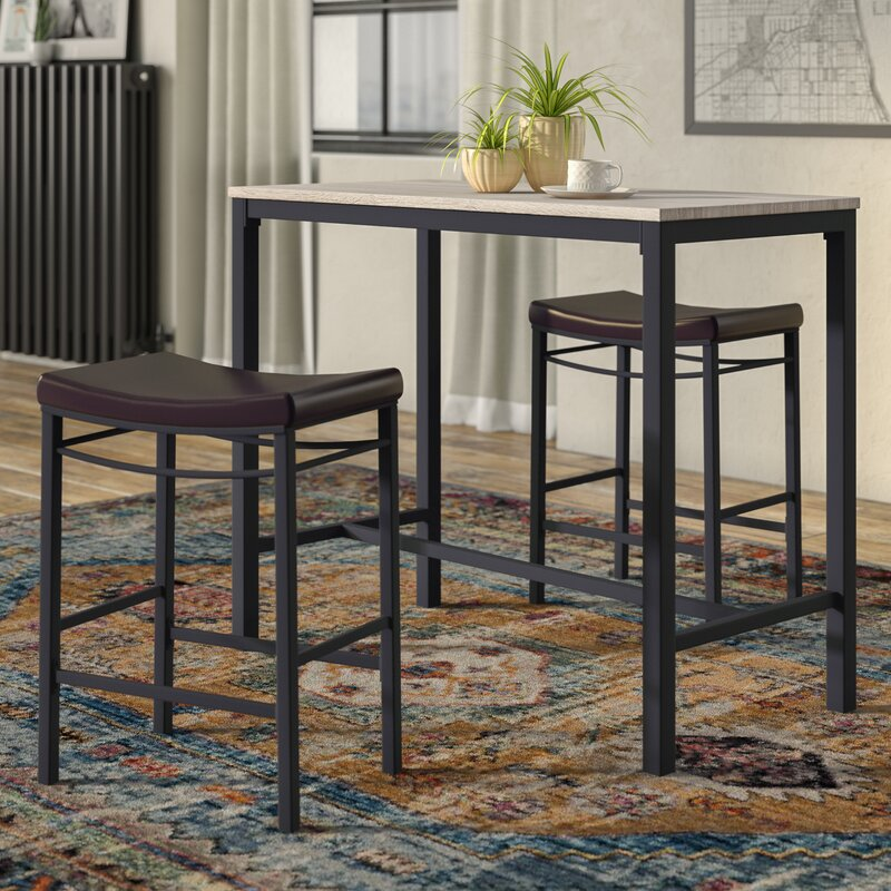 Trent Austin Design Bezons 3 Piece Pub Table Set Amp Reviews