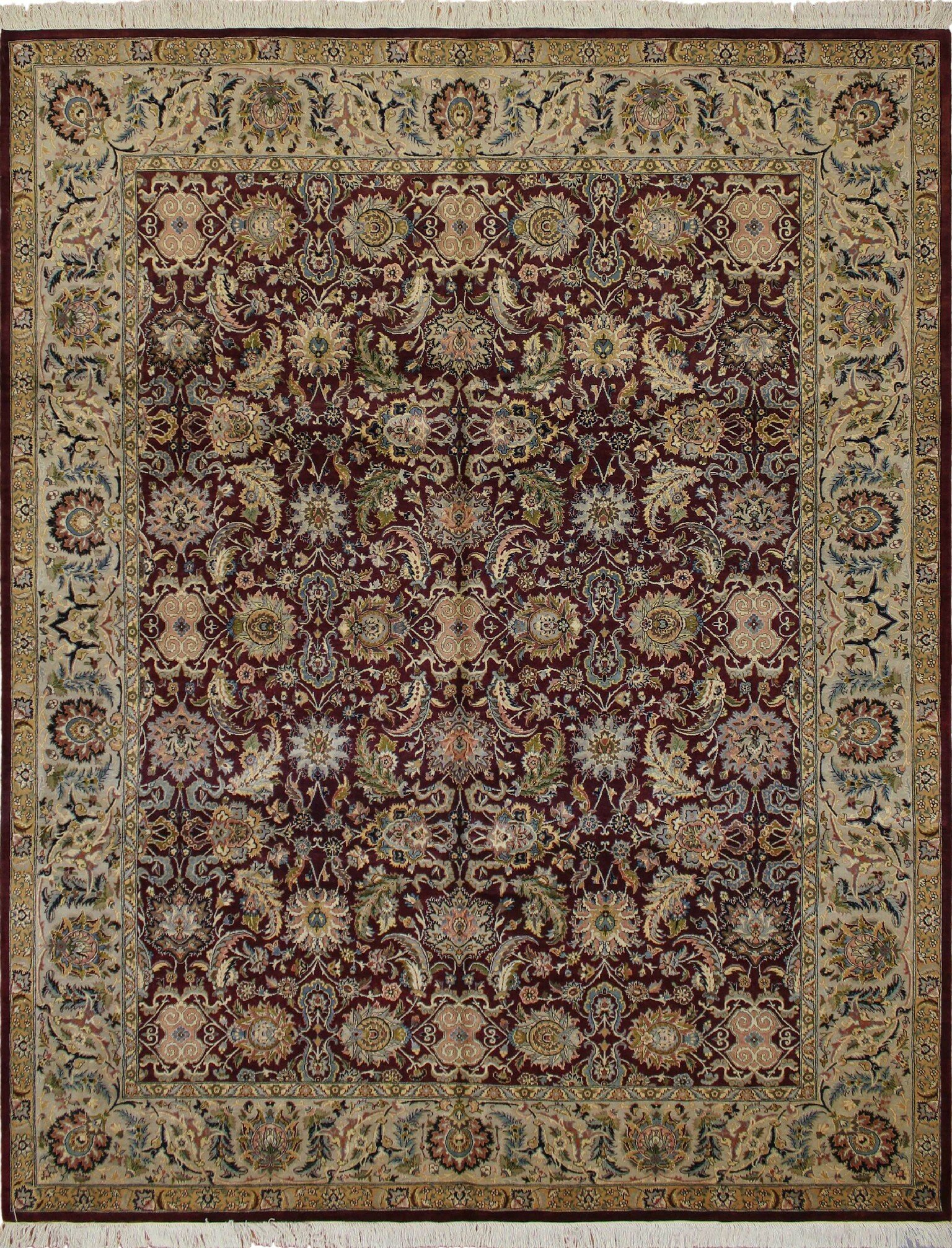 Astoria Grand One Of A Kind Sande Hand Knotted Wool Aubergine Area Rug Reviews Wayfair