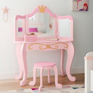 Princess Vanity & Stool by KidKraft