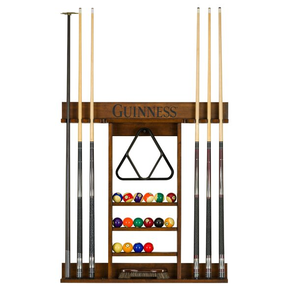 American Heritage Guinness Pool Table Wall Cue Rack | Wayfair