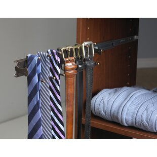 SuiteSymphony Closet System Accessory For Ties And Belts. By ClosetMaid