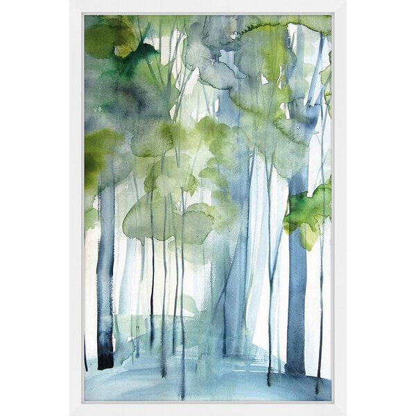 Zipcode Design New Growth Framed Watercolor Painting