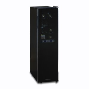 18 Bottle Silent Series Dual Zone Freestanding Wine Cooler by Wine Enthusiast