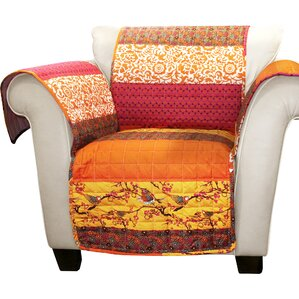 Somerton Box Cushion Armchair Protector by World Menagerie