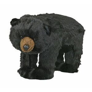 Black Bear Trek Ottoman by Queens of Christmas