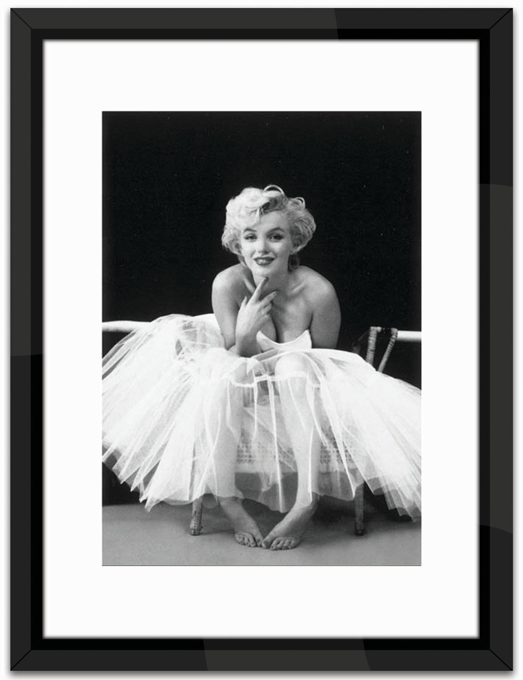 East Urban Home Studio Marilyn Monroe, Ballerina Framed Photographic ...