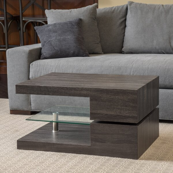 Wade Logan Delwood Coffee Table Amp Reviews Wayfair