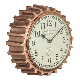 10 Aged Copper Clock