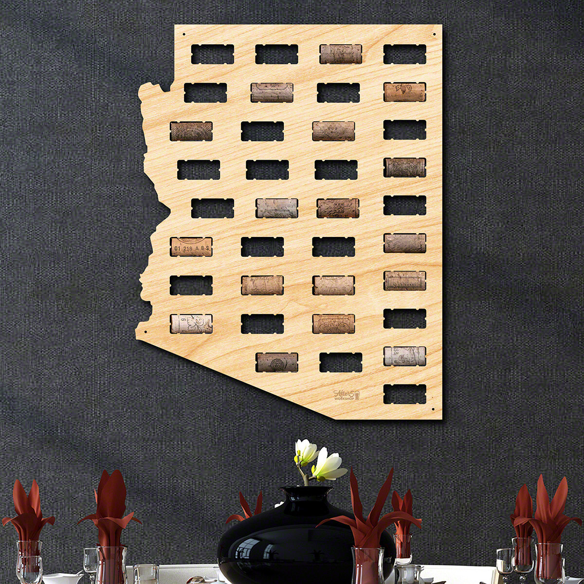 Millwood Pines Arizona Wine Cork Wall Décor | Wayfair