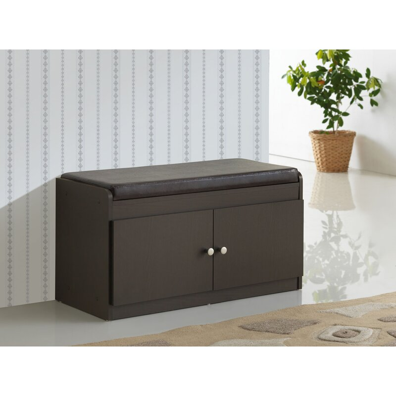 Superbe Ingalls Modern Wood Storage Bench