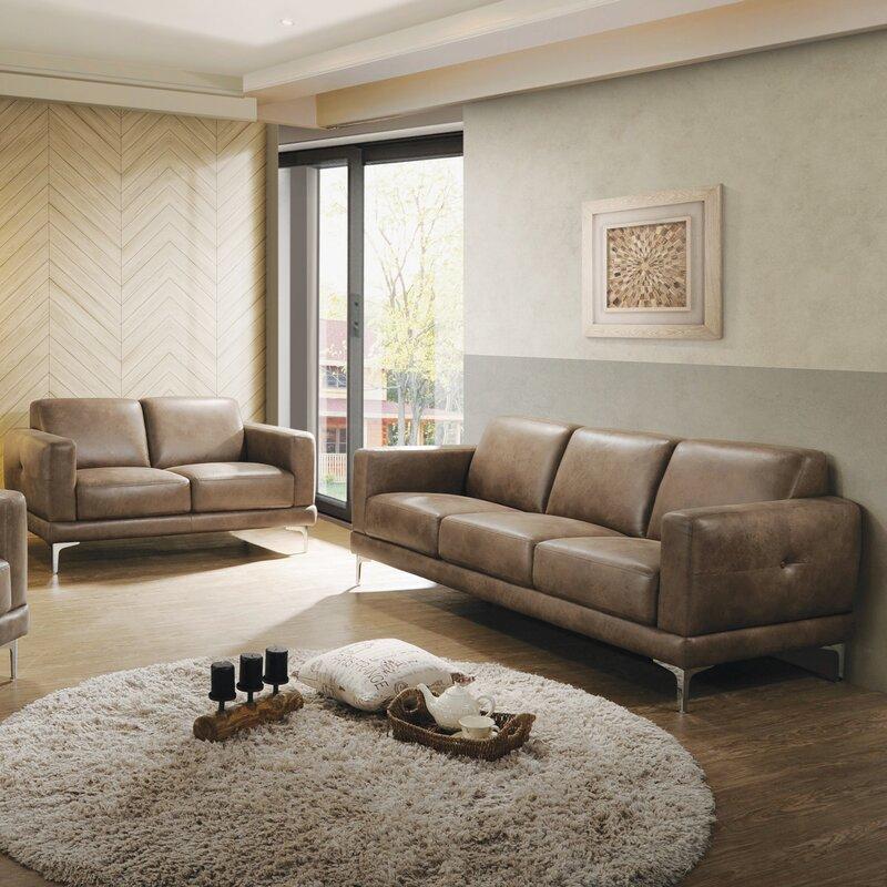 Bryce 2 Piece Living Room Set Amp Reviews Allmodern