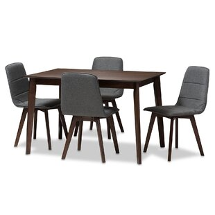 Faning Upholstered 5-Piece Dining Set