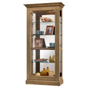 Bremerton Lighted Curio Cabinet