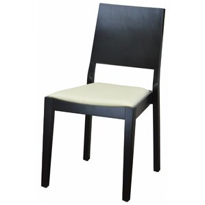 Modern Style Stacking Upholstered Dining Chair by DHC Furniture
