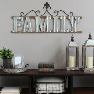 Our family sign wall decor wayfair family sign wall dcor aloadofball Images
