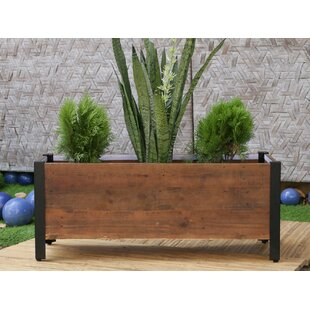 Linsey Rectangular Urban Garden Recycled Wood Planter Box