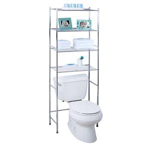 24.02 W x 67.72 H Over the Toilet Storage