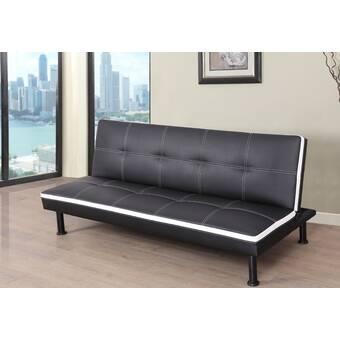 Ebern Designs Evianna Convertible Sofa & Reviews | Wayfair