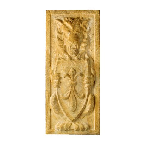 OrlandiStatuary Lion Crest Plaque Wall Decor | Wayfair