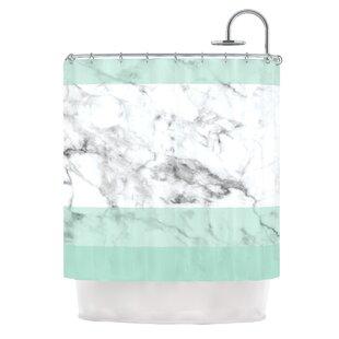 Popular Mint Green Shower Curtain | Wayfair WM81