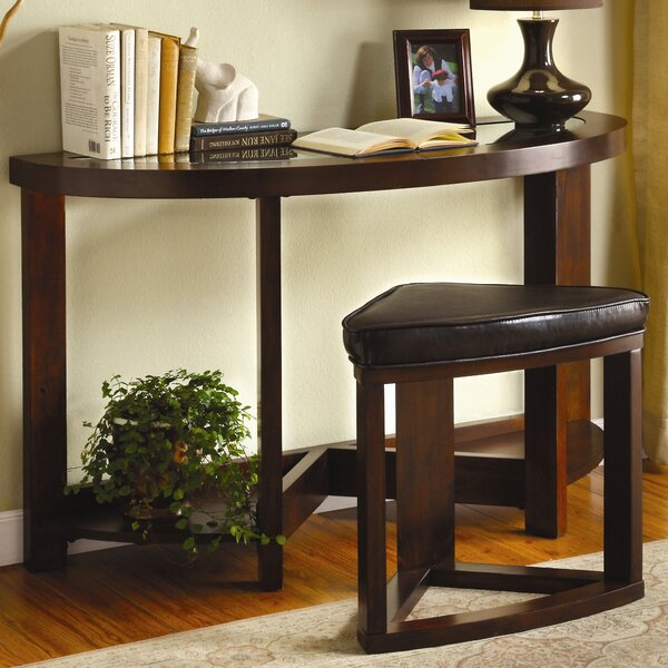 Superb Console Table With Stools | Wayfair