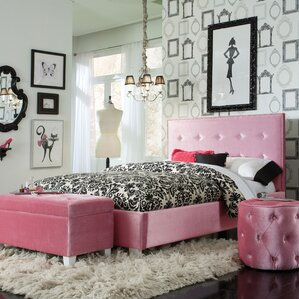 Blair Upholstered Bed by Viv + Rae
