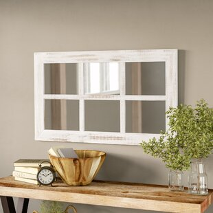 Harr Rustic Windowpane Accent Mirror
