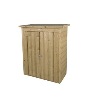 4 Ft. W X 2 Ft. D Shiplap Flat Wooden Tool Shed
