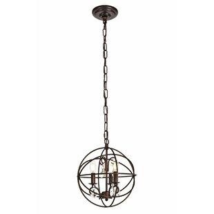 Biddlesden 3 Light Globe Pendant