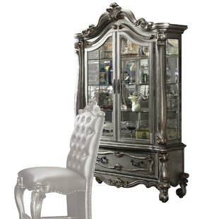 Welton Lighted Curio Cabinet