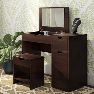 Kistner Vanity Set With Mirror