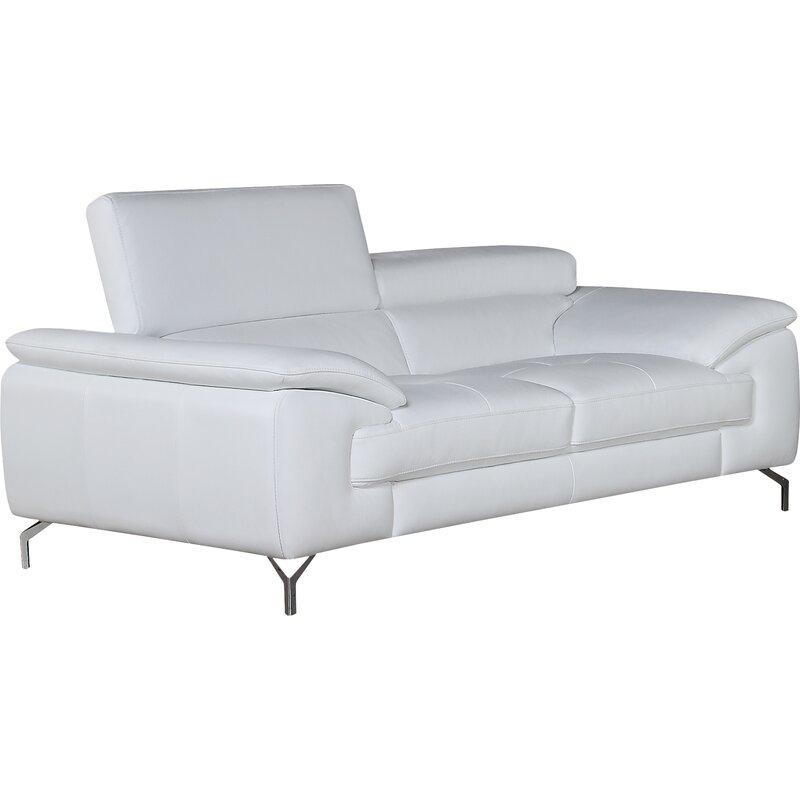 Wade Logan Colwyn Italian Leather Sofa