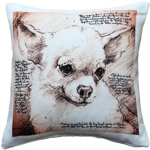 723f9aff367e Cedarfields Chihuahua Dog Indoor Outdoor Throw Pillow
