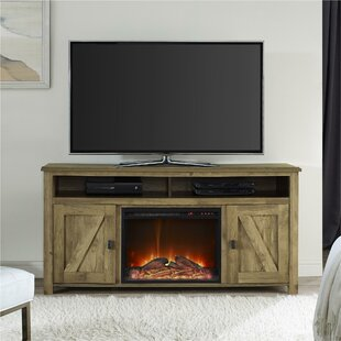 innovative ideas tv with stand console fireplace nice
