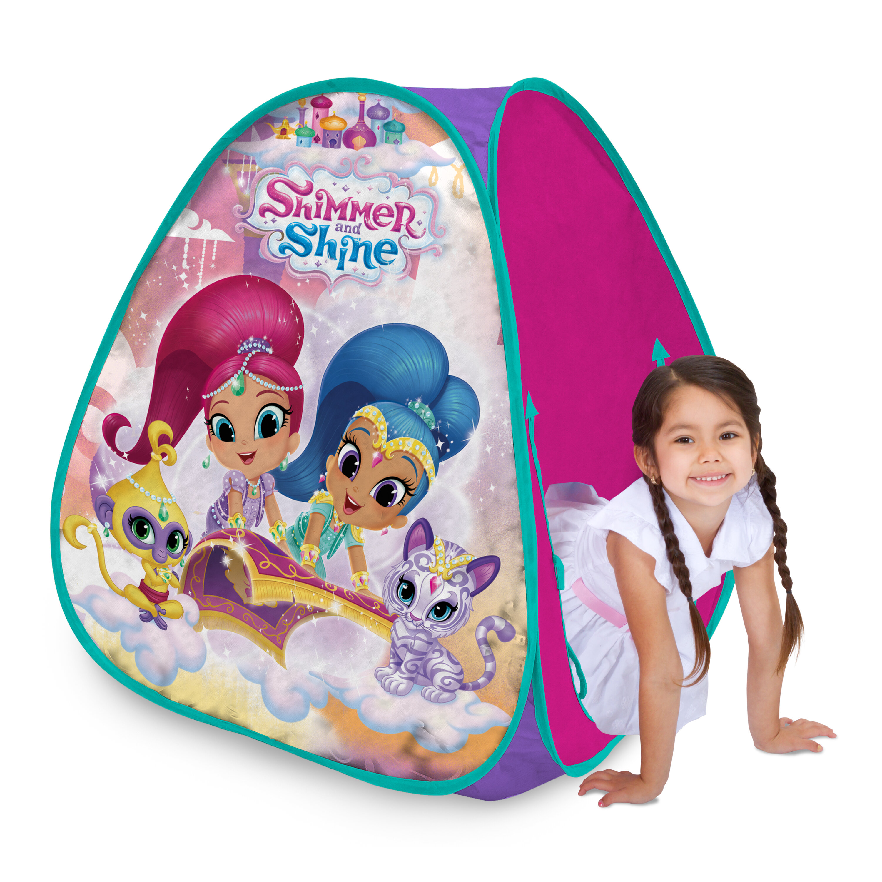 sc 1 st  Wayfair & Playhut Classic Hideaway Shimmer u0026 Shine Play Tent u0026 Reviews | Wayfair