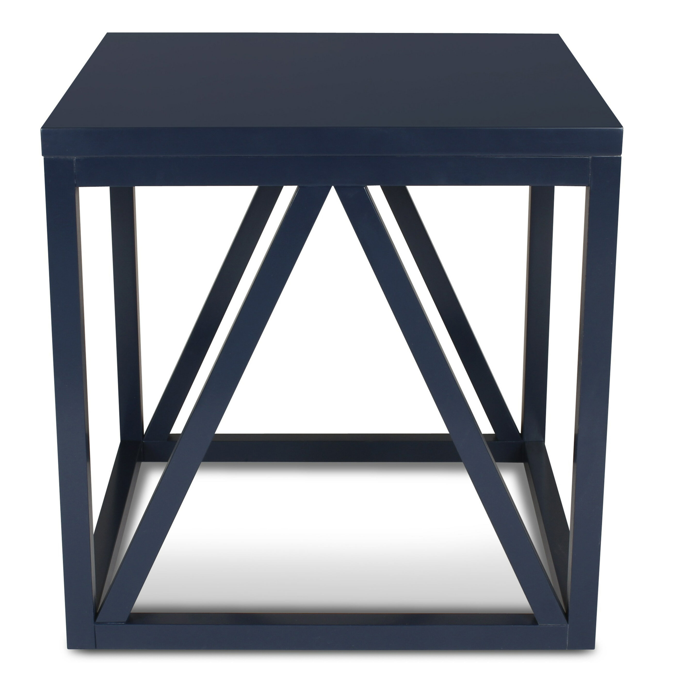 Welty Wood Cube End Table