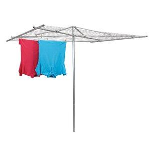 Steel Parallel Umbrella Clothesline