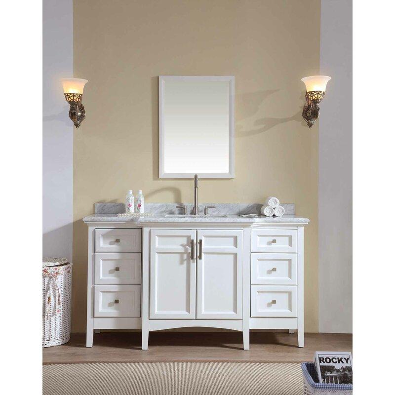 "Bathroom And Kitchen Remodel Set: Zipcode Design Lebanon 60"" Single Bathroom Vanity Set"