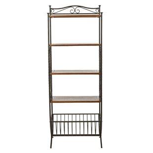 Allenington Etagere Bookcase  sc 1 st  Wayfair & Wrought Iron Corner Shelf | Wayfair