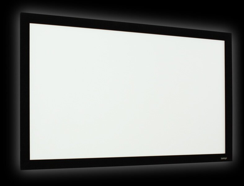 Elunevision Perlux-Silver Fixed Frame Projection Screen | Wayfair