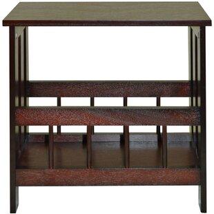 Narrow sofa end tables wayfair sofa side table and magazine rack watchthetrailerfo