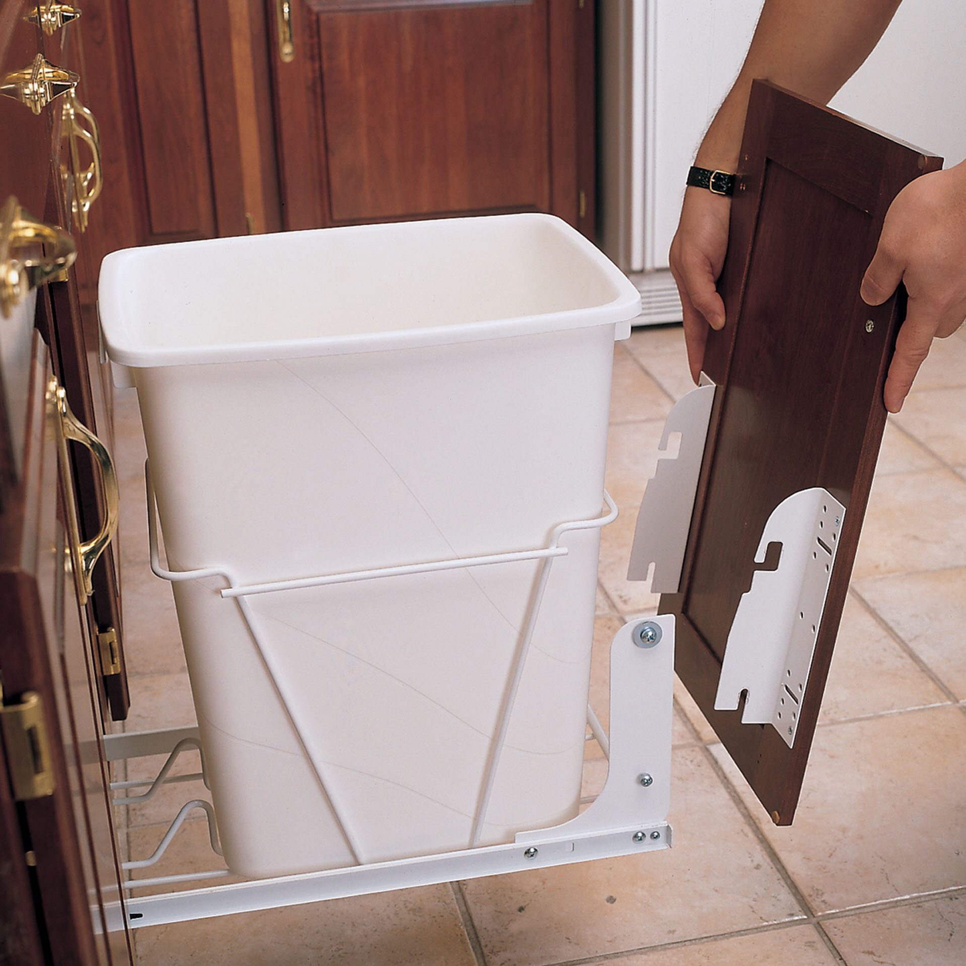 Fine Door Mounting Kit For Wire Rv Pull Out Trash Can Download Free Architecture Designs Scobabritishbridgeorg