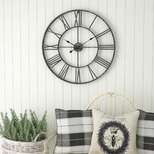 Wall clocks birch lane oversized eisenhauer 30 wall clock gumiabroncs Choice Image