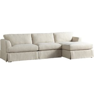 Warner Sectional  sc 1 st  Wayfair : slipcover sectional sofa with chaise - Sectionals, Sofas & Couches