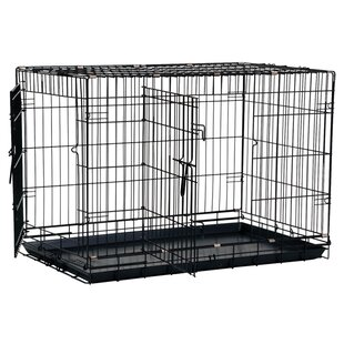 Dog Crate With Bathroom. Great Crate 2 Door Dog Crate